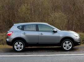 Nissan Qashqai, 2013 (63) Grey Hatchback, Manual Petrol, 39,000 miles, (01443) 831670