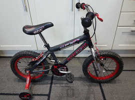 14 inch Wheels Bicycle - Universal GPX - to suit 4 to 6 year old.