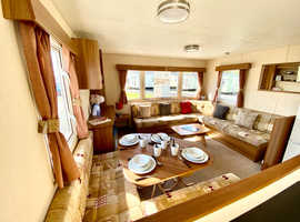luxury double glazed and central heated caravan for sale, call josh