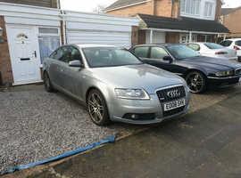 Audi A6, 2008 (08) Grey Saloon, Cvt Diesel, 114 miles