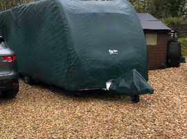 Protec breathable caravan cover to fit caravan 19 feet long