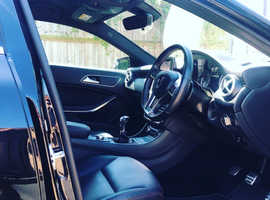 Mercedes A-CLASS, 2014 (64) Black Hatchback, Manual Diesel, 82,000 miles