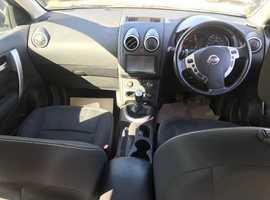 Nissan Qashqai, 2010 (60) Grey Hatchback, Manual Diesel, 125,000 miles
