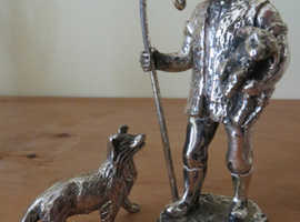 Silver Plated Figurine  Now Reduced