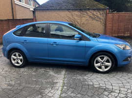 FORD FOCUS 1.6 ZETEC 5 DOOR, ONLY 73K, ONE LADY OWNER SINCE 2010
