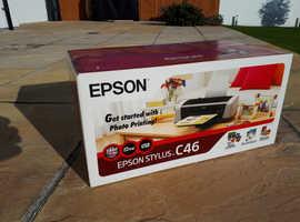 New C46 Epson Stylus Printer
