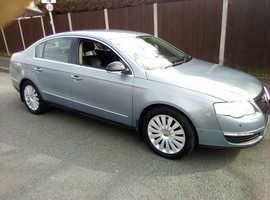 Volkswagen Passat, 2008 (58) Grey Saloon, Manual Diesel, 148,500 miles