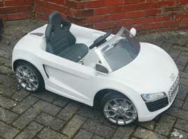 Audi TT battery operated ride in car