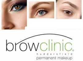 Achieve your dream brows with permanent make - up.