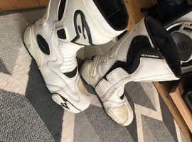 Alpinestars motorbike boots size 11.5