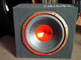 Edge subwoofer and speakers