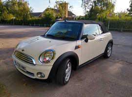 Mini MINI, 2009 (59) White Convertible, Manual Petrol, 63,000 miles