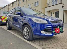 Ford Kuga, 2014 (64) blue hatchback, Manual Diesel, 46,950 miles