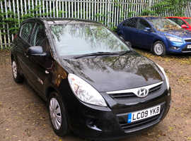Hyundai i20, 2009 (09) Black Hatchback, Manual Petrol, 93,050 miles