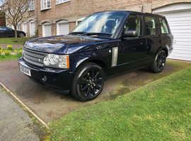 Rover RANGE ROVER VOGUE EFI A, 2005 (05) Blue Other, Automatic Petrol, 86,000 miles