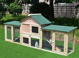 Luxury rabbit hutch