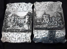 Antique Silver Hallmarked 1840 Book Covers