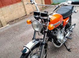 Suzuki hustler motorcycle