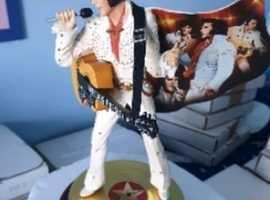 Collectable Elvis Presley  Statue