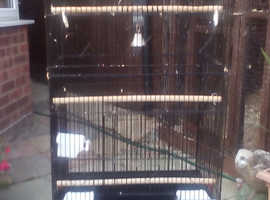 Cage suitable for small parakeet's