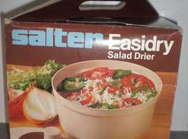 New boxed Salter Easidry Salad Drier