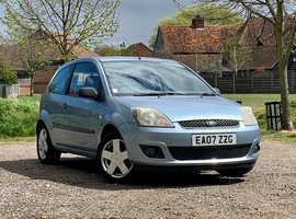 Ford Fiesta, 2007 (07) Blue Hatchback, Manual Petrol, 98,426 miles