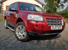 Land Rover Freelander, 2007 (07) Red Estate, Automatic Diesel, 147,000 miles
