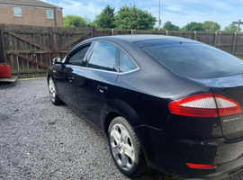 Ford Mondeo, titainium X 2.2 ,2009 (58) Black Hatchback, Manual Diesel, 184,336 miles