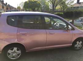HONDA JAZZ 1.4 DSi SE CVT-7 2002 ONLY 58K OCTOBER MOT NO ADVISORIES 5 DOOR