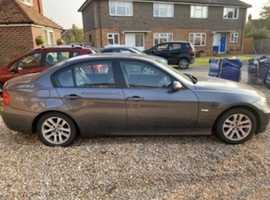 BMW 3 Series, 2006 (06) Grey Saloon, Automatic Diesel, 166,292 miles