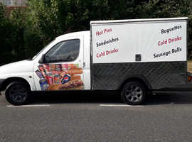 Citroen food catering vehicle