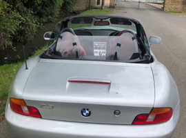 BMW Z SERIES, 2000 (V) Silver Convertible, Manual Petrol, 113,000 miles