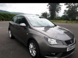 Seat Ibiza, 2014 (64), Manual Petrol, 26,000 miles