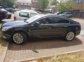 Vauxhall Insignia, 2012 (12) Black Hatchback, Manual Diesel, 147,598 miles