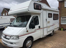 Motorhome 23500 miles from new
