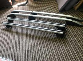 Aluminium roof bars and rails