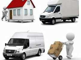 Cheap Man And Van Removal/Parcels Service. Only £70 locally. Long distance negotiable.