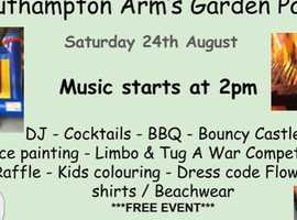 Southampton Arms Gareden Party