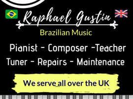 Pianist - Composer - Tuner - Repairs - Maintenance - Teacher