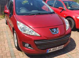 Peugeot 207, 2011 (60) Red Hatchback, Manual Petrol, 75,000 miles