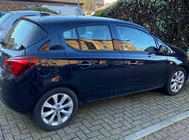 Vauxhall Corsa, 2017 (67) blue hatchback, Manual Petrol, 10,000 miles