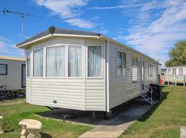 ABI Focus 2008 static caravan at Steeple Bay, Essex. Private sale