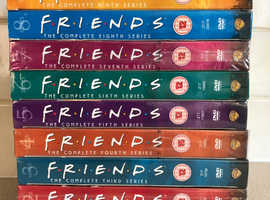 Friends DVD's Series 1-10 (All Series)