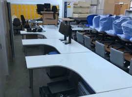 1600mm Herman Curved Desk