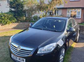 Vauxhall Insignia, 2010 (60) Black Hatchback, Manual Petrol, 63,548 miles