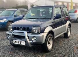 Suzuki Jimny, 2004 (04) Blue Estate, Automatic Petrol, 69,000 miles