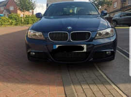 BMW 3 Series, 2011 (61) Blue Saloon, Manual Diesel, 121,000 miles