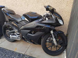 Motorhispania rx 125 r  motorbike