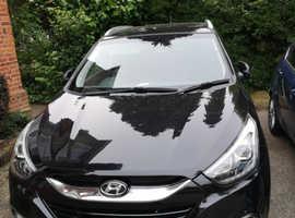 Hyundai Ix35, 2015 (15) Black Estate, Automatic Diesel, 34,900 miles