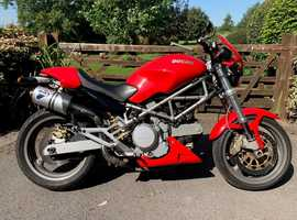 Ducati Monster 620 ie 2004 with full Termignoni Exhausts